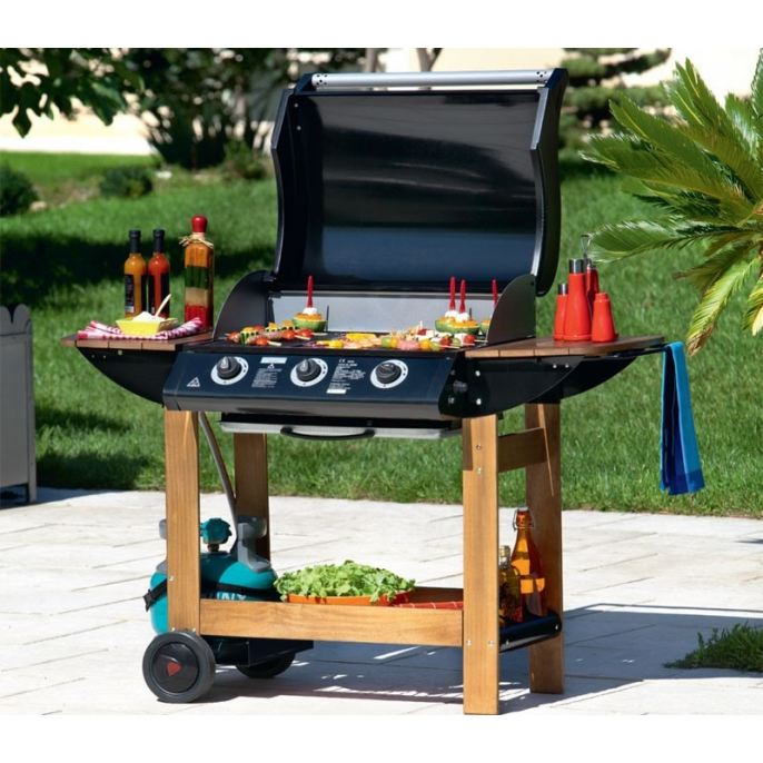 la plancha gaz va t elle supplanter le barbecue notre avis clair abc. Black Bedroom Furniture Sets. Home Design Ideas