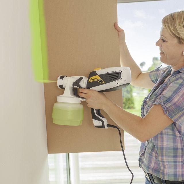 5 conseils pour manier le pistolet peinture abc. Black Bedroom Furniture Sets. Home Design Ideas