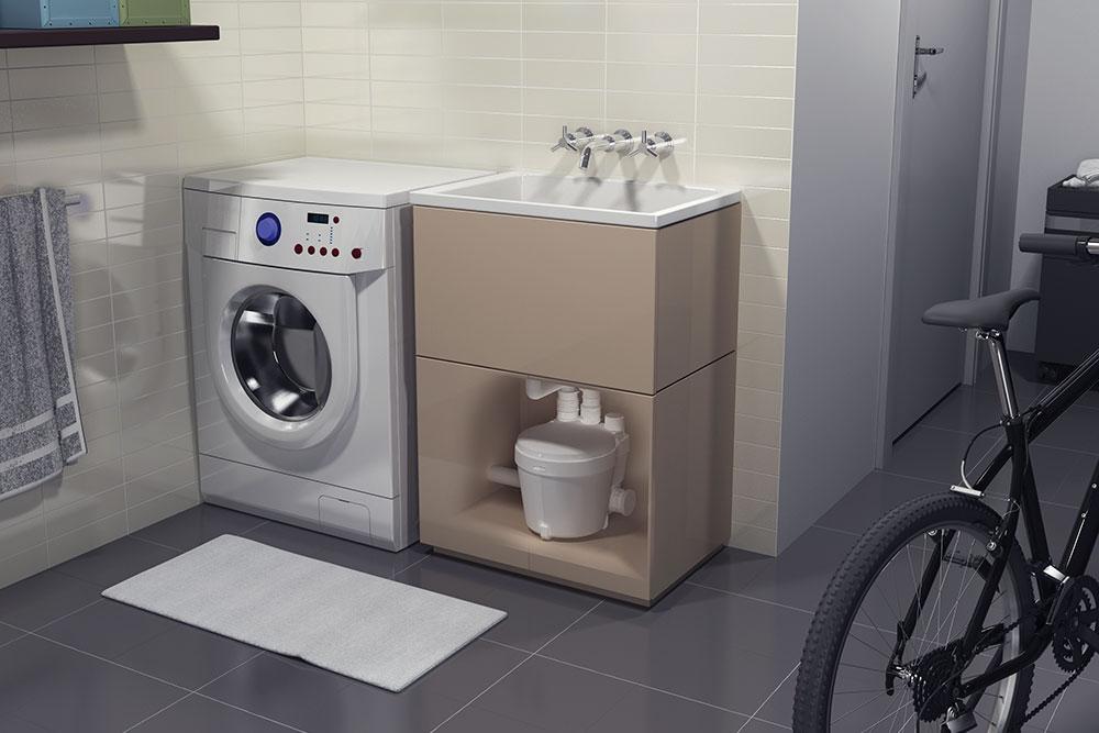 pompe de relevage salle de bain